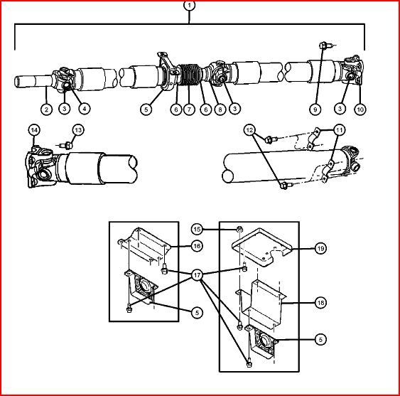 Service manual [How To Remove A Carrier Bearing 2004 Gmc