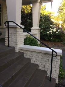 Traditional Exterior Handrail Front Steps - Seattle