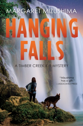 The cover for Hanging Falls by Margaret Mizushima.