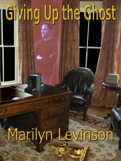 Cover art for Giving Up the Ghost, by Marilyn Levinson