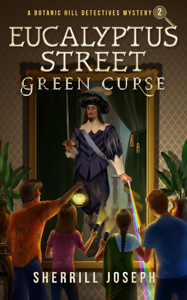 Book cover of Eucalyptus Street: Green Curse by Sherrill Joseph