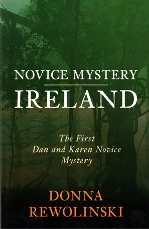 Book cover of Novice Mystery Ireland by Donna Rewolinski