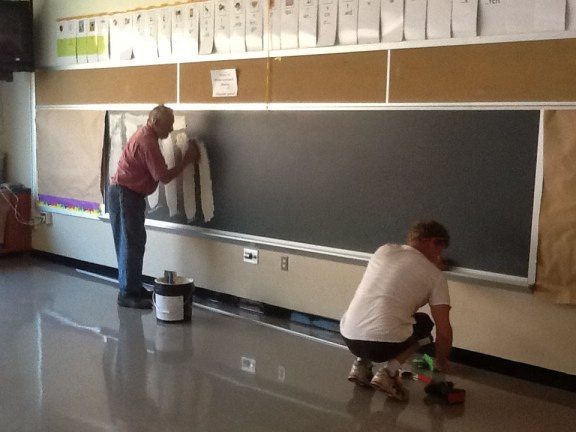 Overboard - Application of the Adhesive - Kratzer Elementary