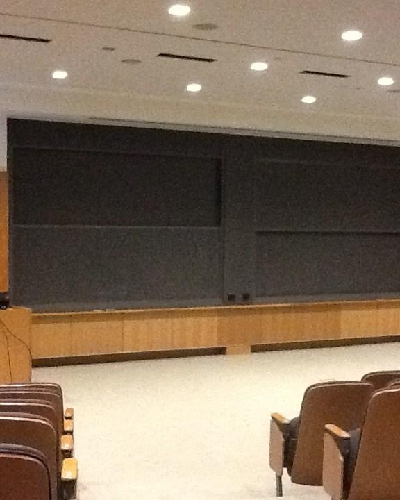 Vertical Sliding Chalkboard