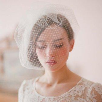 Voilette mariée - birdcage bride, 112.88€