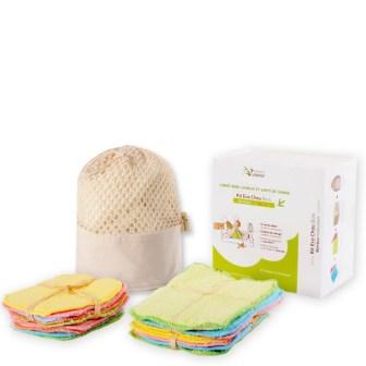 Kit lavettes écologiques, 37.50€