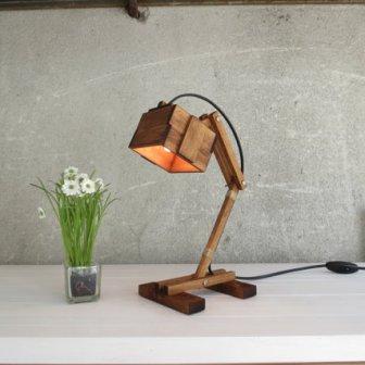 Lampe bois - wood lamp, 64.90€