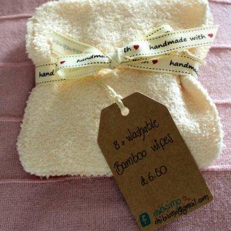 Lavettes lavables - washable wipes, 9.36€