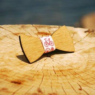 Noeud papillon bois - wood bow tie, 23.47€