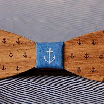 Noeud papillon bois - wood bow tie, 27.23€