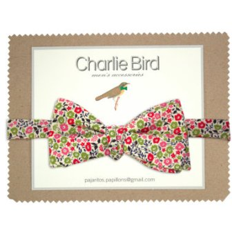 Noeud papillon liberty - flowers bow tie, 32.50€