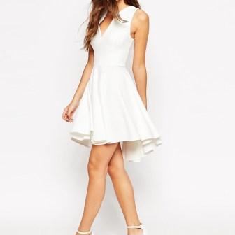 Robe blanche - white dress, 65.99€