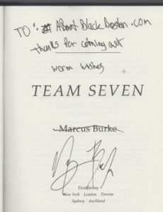 Team Seven signed copy