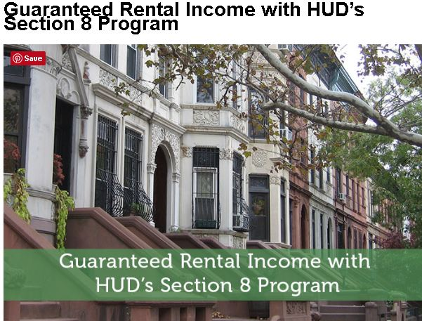 Section 8 guaranteed rental income