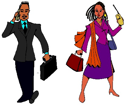 Black woman clip art
