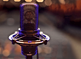 Music is the microphone