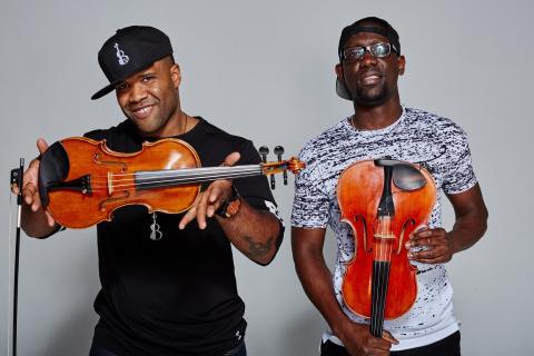 Black Violin performs in Boston