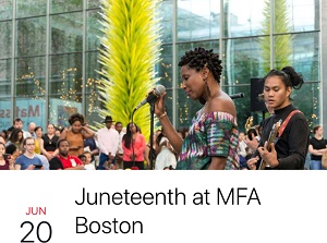 Boston celebrates Juneteenth