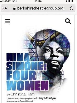 Nina Simone Four Women Poster