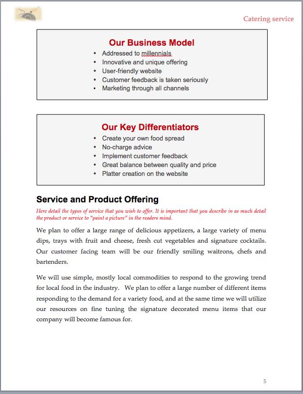 Sample Business Plan Cover Letter