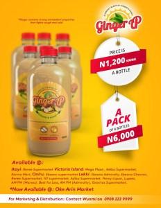 GingerUp Drink