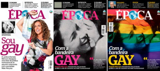 Cover stories of Daniela Mercury's announcement