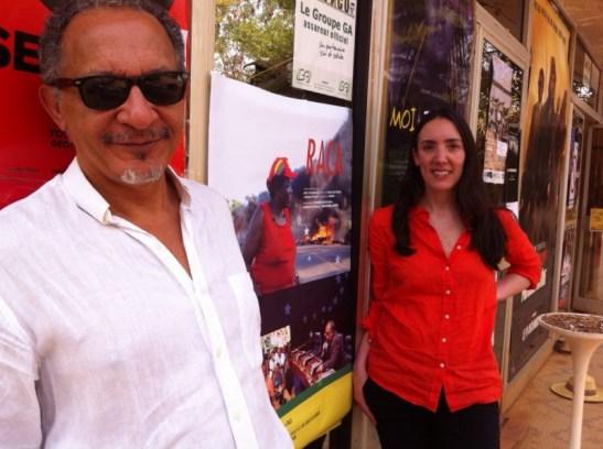 "Directors of ""Raça"" Joel Zito Araújo and Megan Mylan"