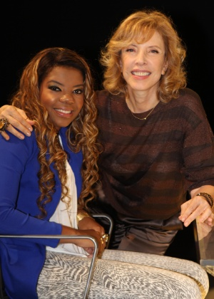 Funk singer MC Beyoncé will be interviewed by popular TV host Marília Gabriela