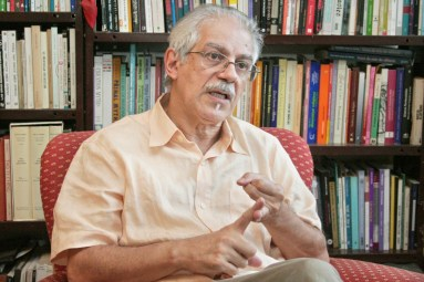 Professor José Jorge de Carvalho of the University de Brasília: Study found that blacks are vastly invisible in careers as college professors and diplomats