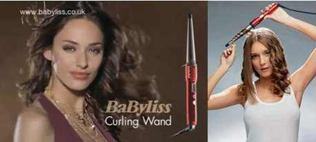 Babyliss hair curling iron