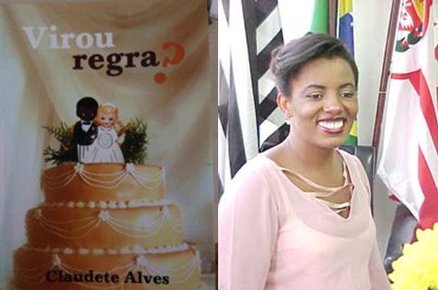 "2010 book ""Virou Regra"" by Claudete Alves"