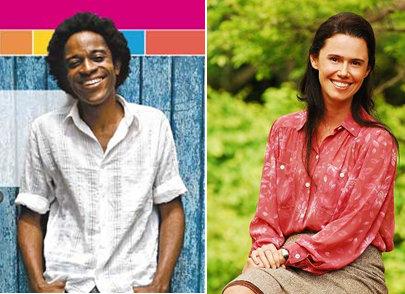 Edivânia (Susana Ribeiro) e Ezequiel (Flávio Bauraqui)