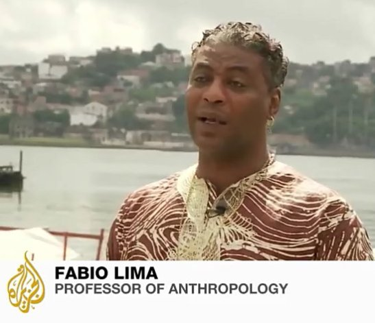 """Fabio Lima, professor of Anthropology: """"Afro-Brazilians aren't mobilizing because many of them are poor and get aid from a paternalistic government, this creates dependency ad makes it hard for them to question authority."""""""