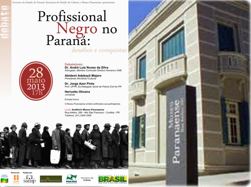 Museu Paranaense in southern Brazil now features an exposition about Afro-Brazilians