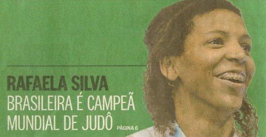 Rafaela Silva of Rio de Janeiro becomes the first Brazilian woman to become world champion of Judo