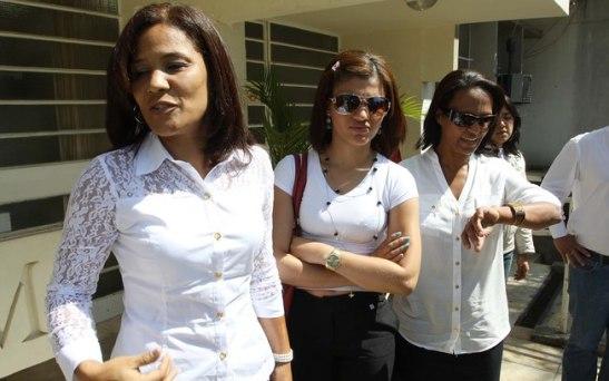 Andréia's sister Josinele Bezerra during the trial of Evandro Gomes Correia Filho