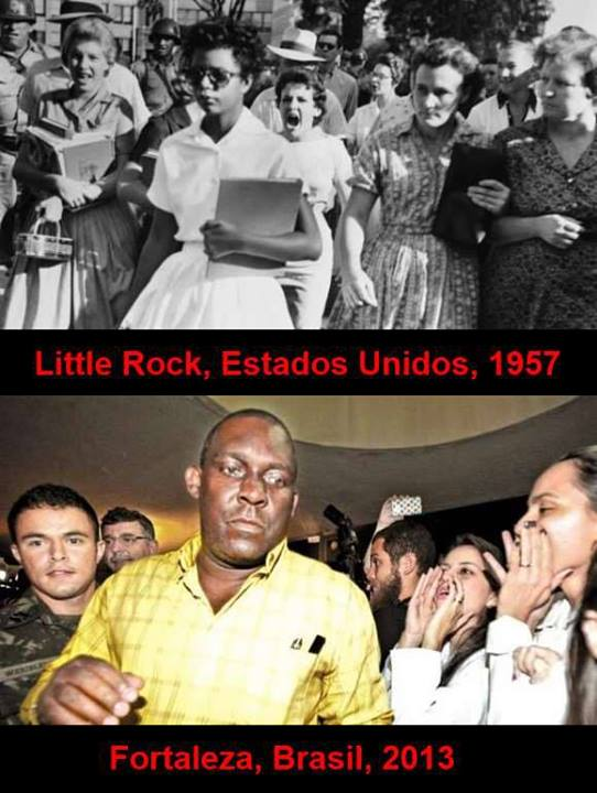 Little Rock é aqui - ódio social e racial