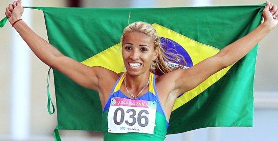 Lucimara wins the bronze in 2007 Pan-American Games