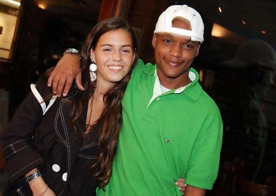 """Actor Darlan Cunha, of """"Cidade de Deus""""/""""Cidade dos Homens"""" fame with girlfriend Marcelle"""