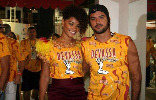 Actress Juliana Alves and boyfriend Guilherme Duarte