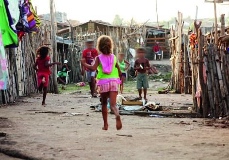 Favela Portelinha in  Murici, Alagoas