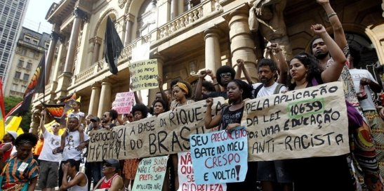 The Day of Black Consciousness at the Municipal Theatre in São Paulo