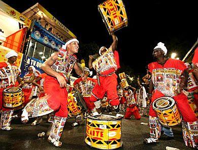 Ilê Aiye is Bahia's oldest bloco afro