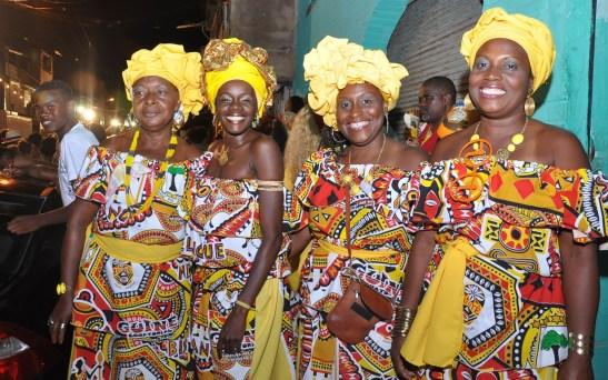 Some of the women of Ilê Aiye