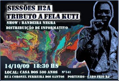 Tribute to Fela Kuti in Cabo Frio, Rio de Janeiro