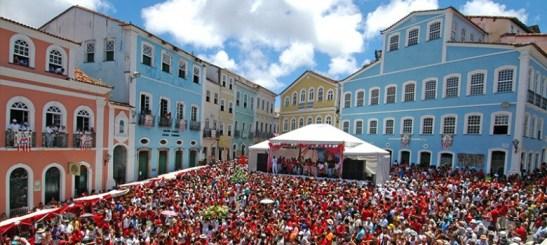 Pelourinho in Salvador, Bahia