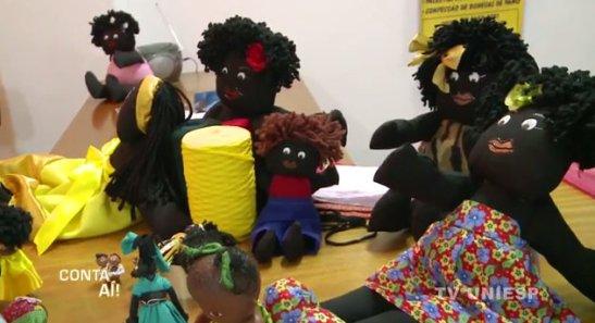 Dolls created by Lúcia Makena