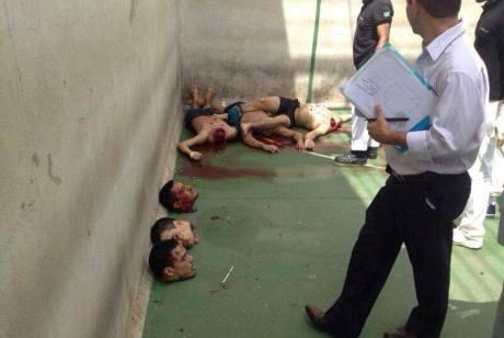 Decapitated bodies from in São Luís, Maranhão, in the Pedrinhas Penitentiary