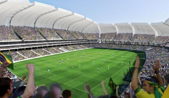 Arena das Dunas Stadium in Natal, Rio Grande do Norte
