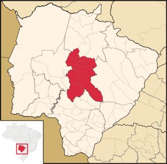 Campo Grande, capital city of Mato Grosso do Sul